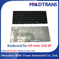 Original new notebook keyboard laptop keboard for HP mini 110 SP language layout