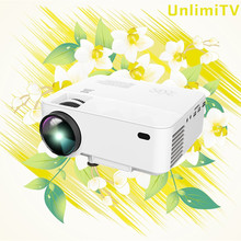 [OEM supplier]portable home projector small led projector high lumen portable projector