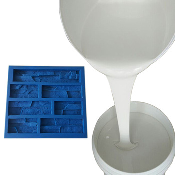 China manufacturer provide Tin cure liquid silicone rubber  raw material to make  artificial stone mold