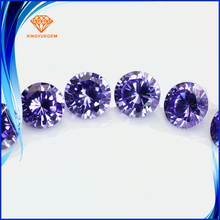 cz loose gemstone 5mm use for cubic zirconia jewelry in silver jewelry
