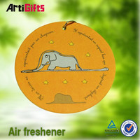 professional product cheap paper air freshener for car for giveaway gift promotion