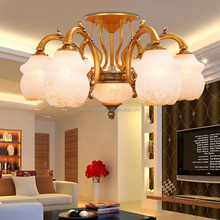 wholesale modern indoor led big flower ceiling lights for home decorative