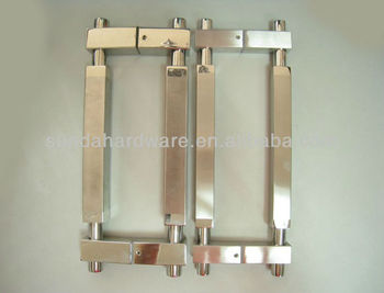 Stainless Steel Glass Door Handle/Sliding glass door handle