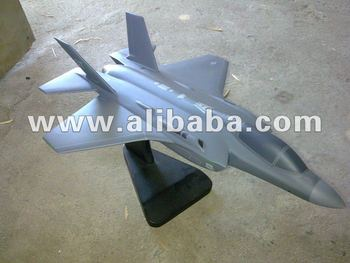 F35 Lighting II Wooden Model