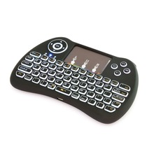 cost-effective H9 Silicon keys Plastic Shell 2.4GHz Wireless Remote Control keyboard latest models