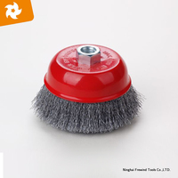 100mm steel wire cup brush