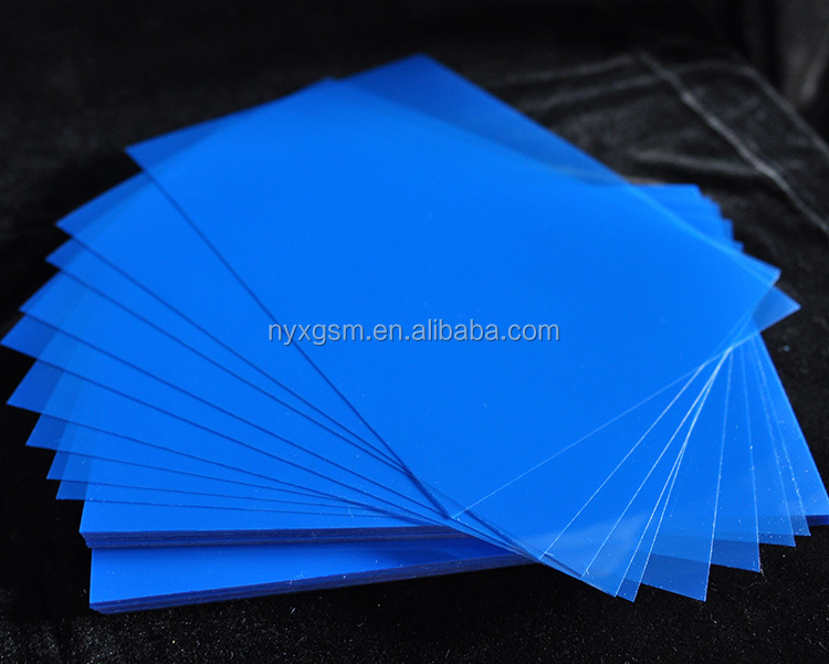 Backing Coated Medical X-Ray Dry Blue Film for medical using in the hospital