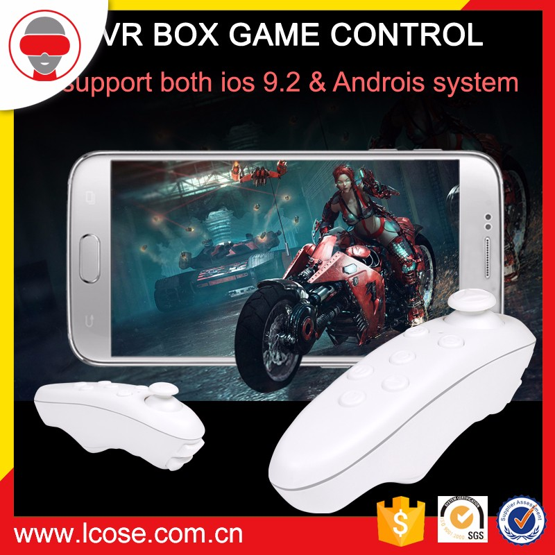 Lcose VR BOX virtual reality 1 st Bluetooth Control for Game pad