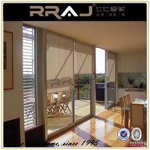 Cordless Blackout White roller blinds fabric screen
