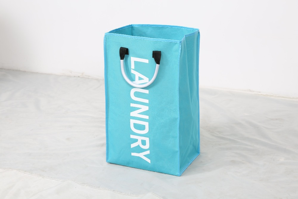 High quality modern hanging folding cotton laundry bag