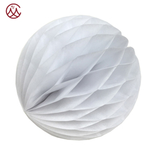White Wedding Paper Lantern Honeycomb Ball Wedding Party Decorations