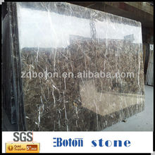Dark Brown Chinese Emperador Marble Slabs