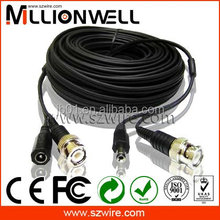 shenzhen Coax Cable RG59 Power CCTV Security Camera/cable coaxial cable/catv power supply