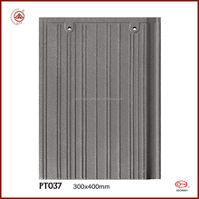 Best selling great price pressure resistance 300*400mm flat style roof tile roof