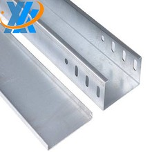 CE Certificated Galvanized Cable Tray/Cable Trunking Size/GI Cable Trunking