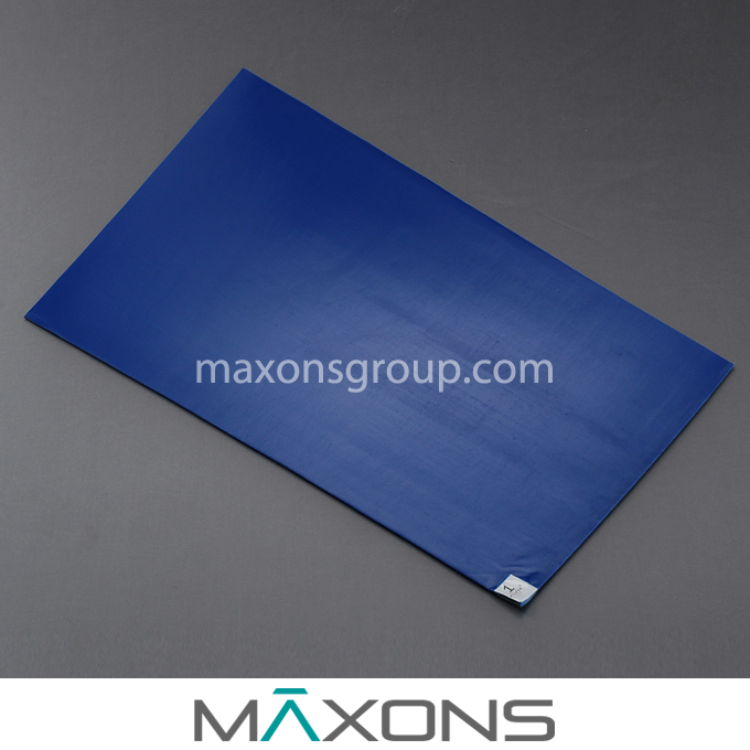 Cleanroom Sticky / Tacky Entrance Mats for Contamination Control - 30um / 35um / 40um / 45um Disposable Adhesive Coated PE Film