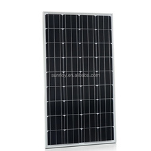 Mono PV Solar Module 100W Mono panel for off grid system high efficiency solar panel system