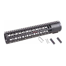 "Origin Manufacturer Vector Optics 12"" AR 10 AR10 308 Free Float Handguard KeyMod Key Mod Picatinny Rail System with Barrel Nut"