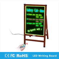 Factory wholesale low price used single sided led waterproof sign board