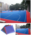 High Quality Suspended Interlocking Flooring For Outdoor Basketball Court