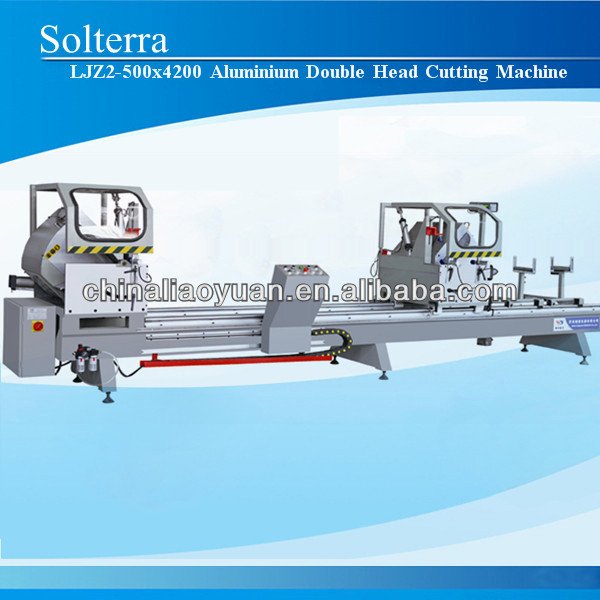 Aluminium window Profile Double Head Cutting Saw Machine