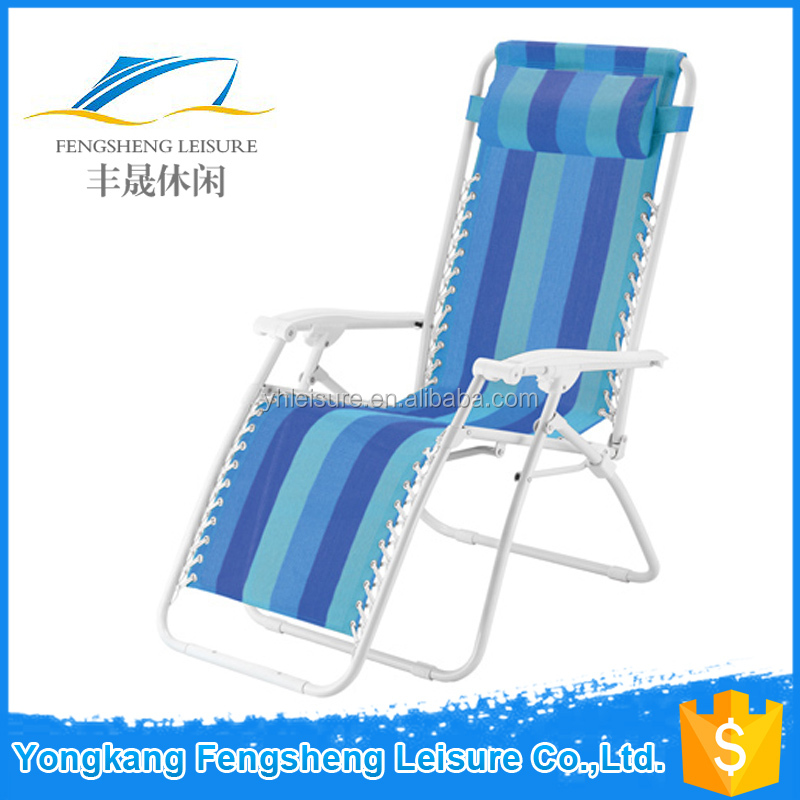 Outdoor Relax Textile Chair with Backrest