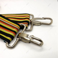 Hot sales 51mm iron strap snap hook metal hook for bag hardware