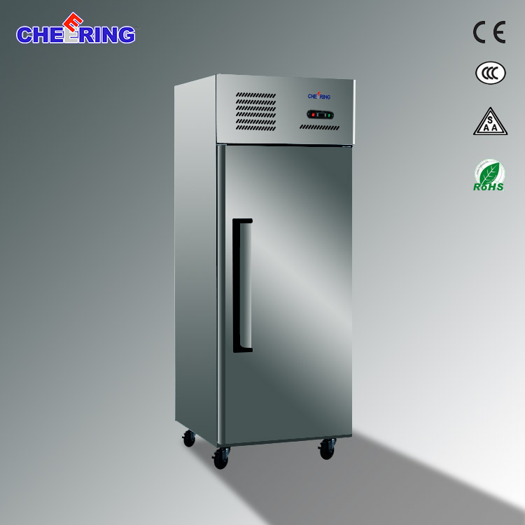 Single door Restaurant Stainless Steel Industrial Fridge Freezer