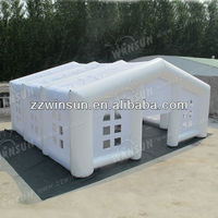 commerical outdoor cool white inflatable tent for beach wedding