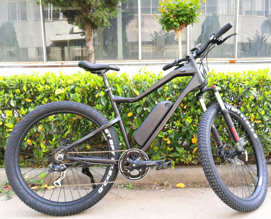 With 7 speed gaers 36V 250W motor  mountain  electric bicycle