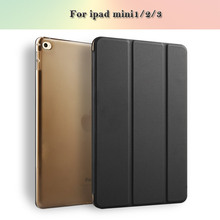 "Suction screen fuction 8"" Kid Proof Protective Leather Yue color tablet case For ipad mini123"