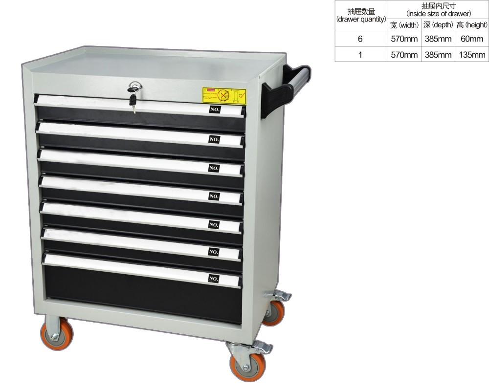 Hot Sales Car Repair Tool Box Trolley