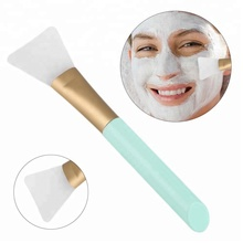 Professional women DIY facial make up skin care tools silicone face mask brush