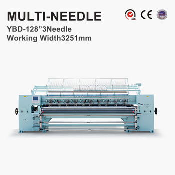 YBD128-3 Computerized Multi-needle Quilting Machine, 3200mm working width