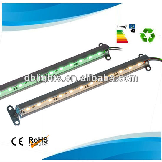 24volt RGB Color 60 LEDs/m 5050 rigid bar light