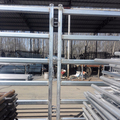 5Bars 40X80mm Oval Rail Cattle Panel