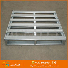 Customized 4-way Double Faced Steel Pallet