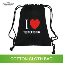 custom 12oz 300gsm thick black cotton canvas tote shopping tote drawstring bag alibaba trade assurance