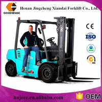 whole sale counter balance weight 6 ton electric Forklift Truck with Chinese battery