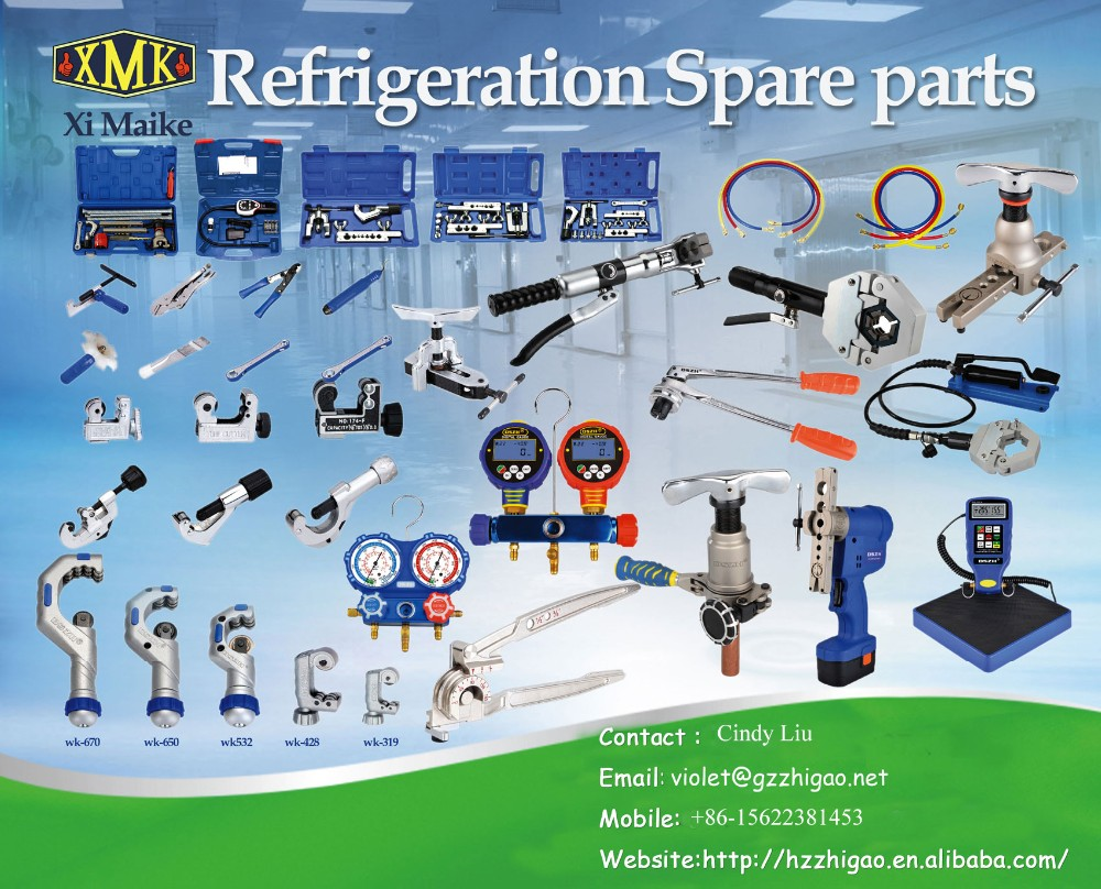 Refrigeration Flaring Tool for copper tube