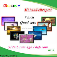 7 Inch New Tablet PC Manufacturer Quad core wifi cheap tablet 7 q88 tablet prices in pakistan