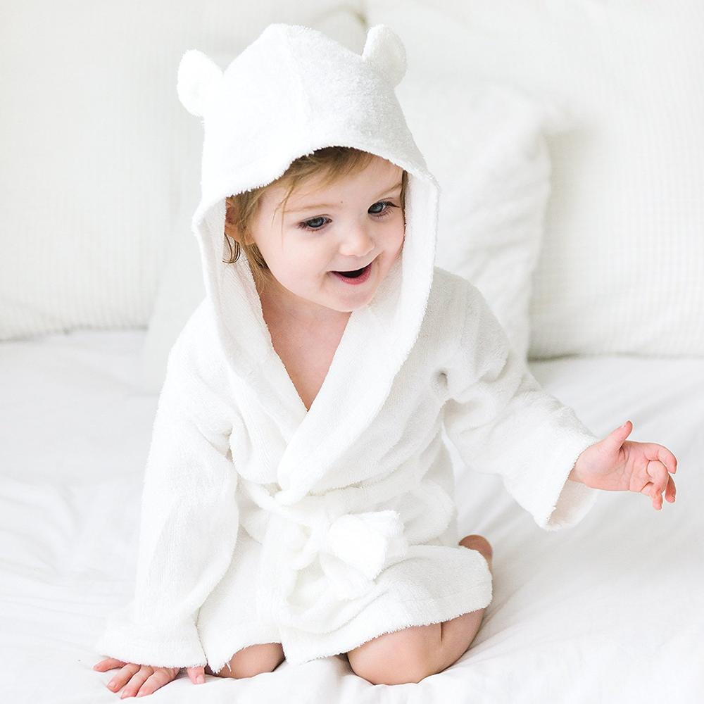 600gsm premium luxury organic bamboo fiber woven terry apron hood wrap bath towel robe with hooded for baby toddler children