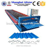 2015 hot sale product metal roof sheet making roll forming machinery manufacturer in China