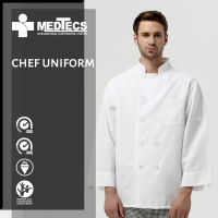 Polyester Custom chef jackets coats hotel reception uniform shirts