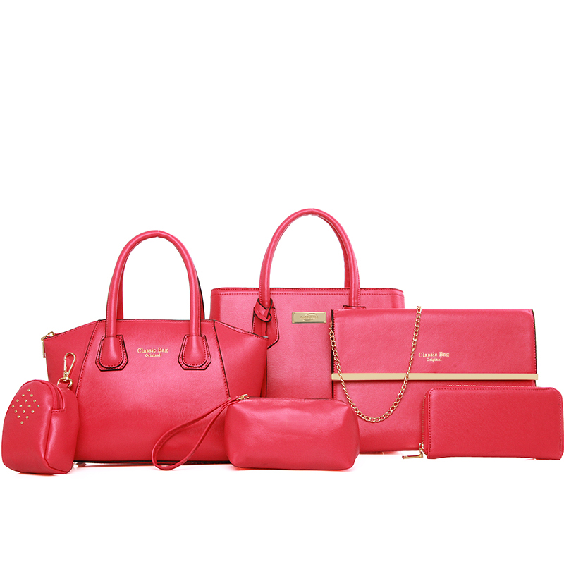 TK-B-004 High quality 6 in 1 Set Bags Women <strong>Handbag</strong>