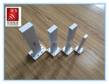 WR137 straight microwave waveguide