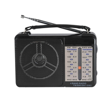 Portable AM/FM/SW 4 Band radio with AC DC Power