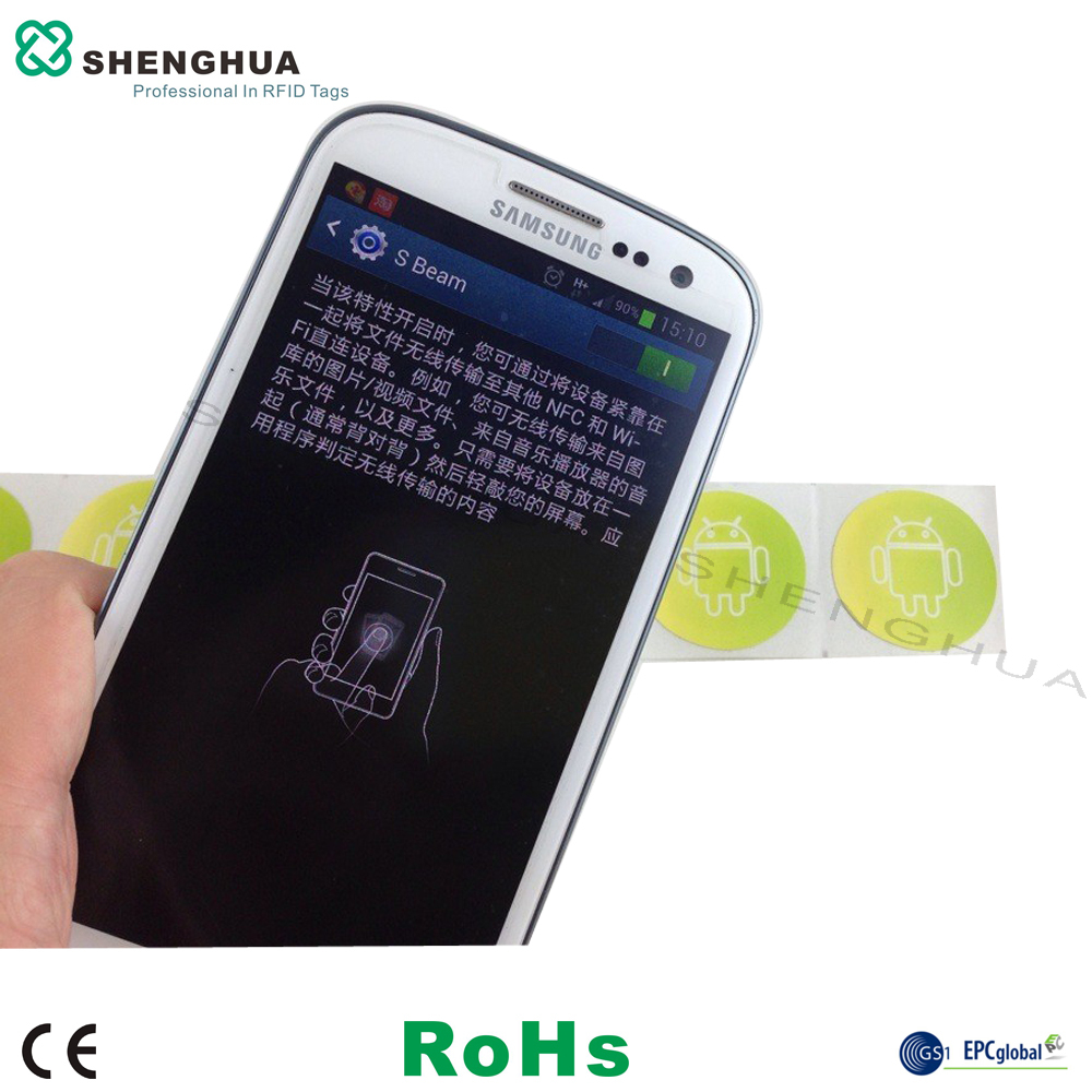 14443A MF1 NTAG203 RFID NFC STICKER
