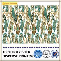 digital printing 100% polyester microfiber fabric jacquard bedding set fabric
