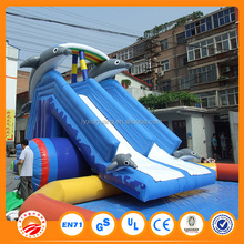 Large adult size inflatable water slide for kids and adults